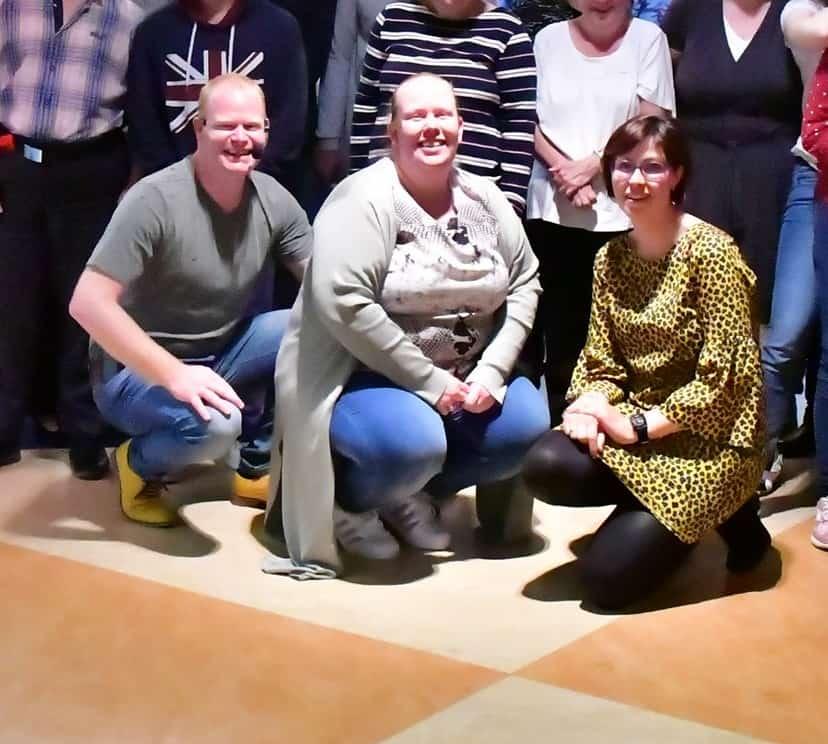 Dansclub Sjansee, Dieneke Zwaan en Marco van Rijn